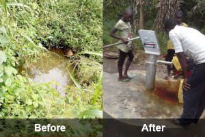 Increasing access to clean water, Mityana and Mubende districts – Uganda